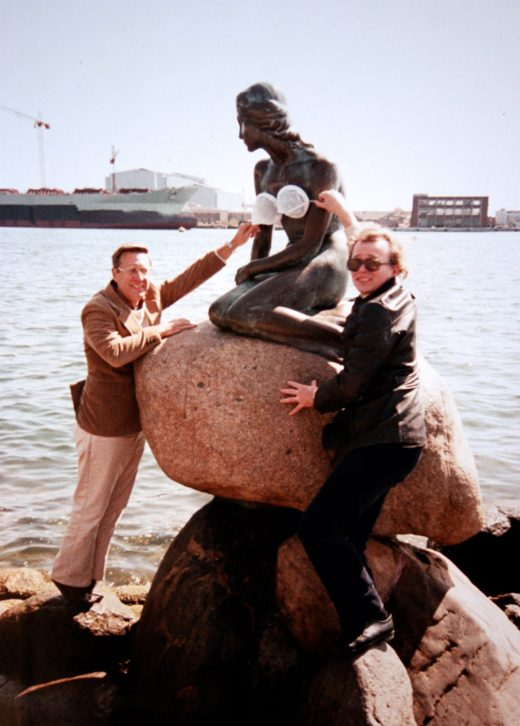 Robert Higgins and Reinhardt Kristensen in Copenhagen, Denmark