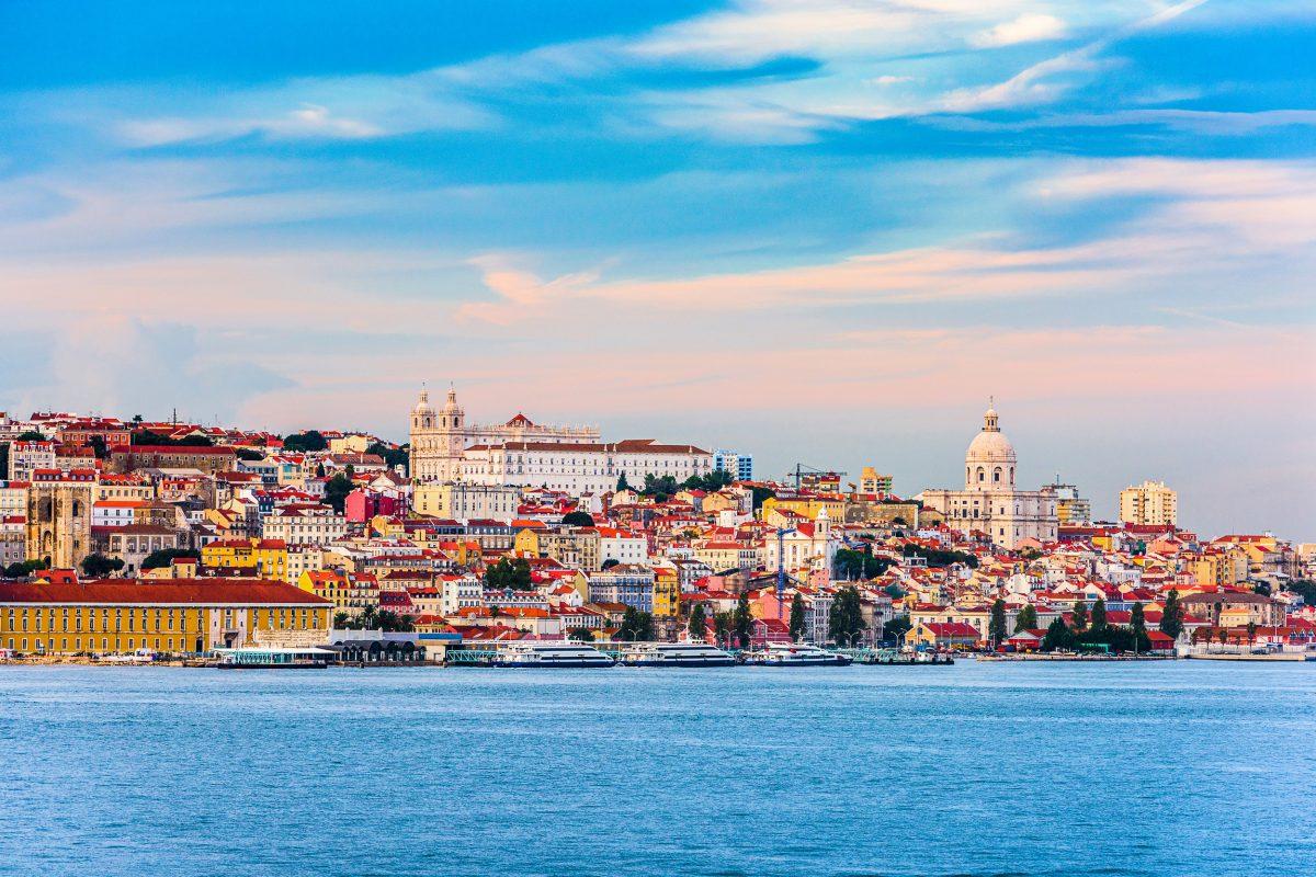 modern photo of Lisbon, Portugal