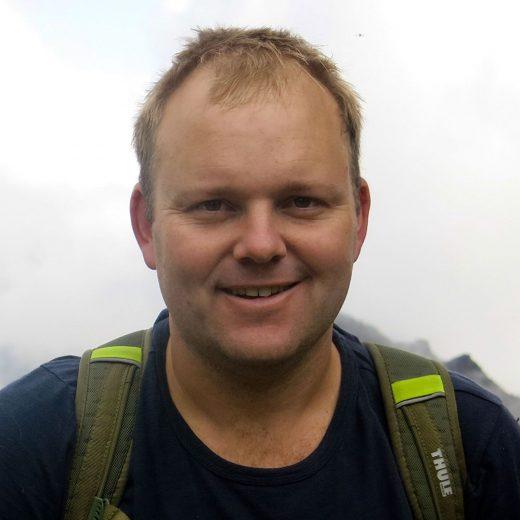 writer Nick Dall