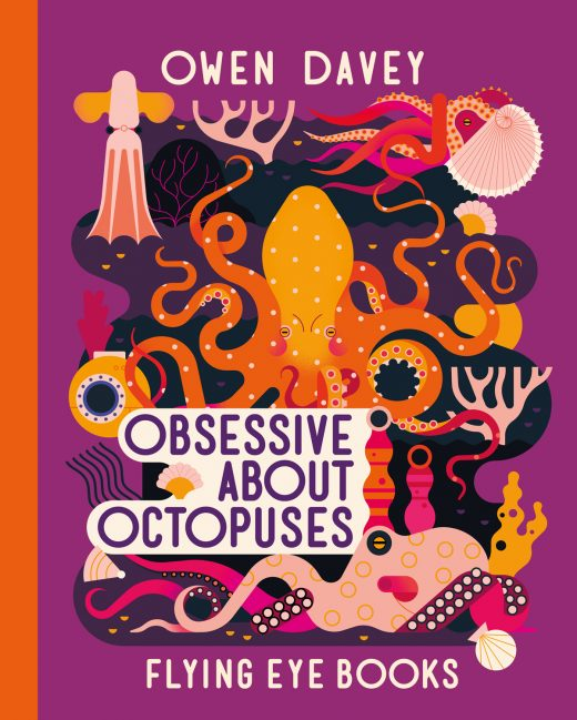cover of Obsessive About Octopuses