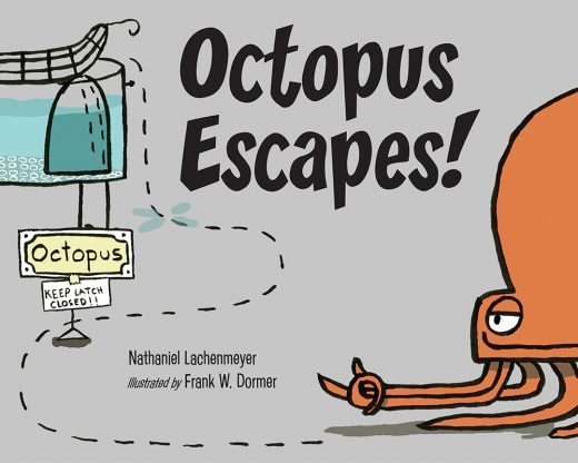 Cover image of Octopus Escapes!