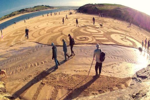 sand art by Tony Plant