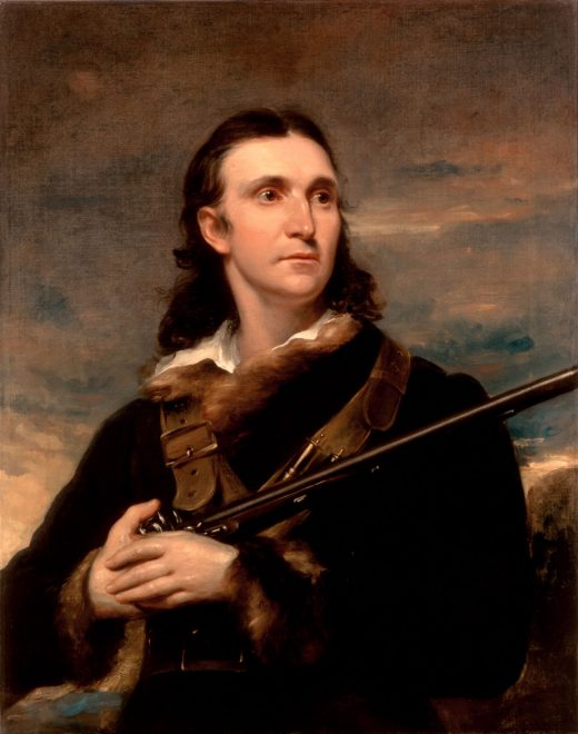 portrait of John James Audubon