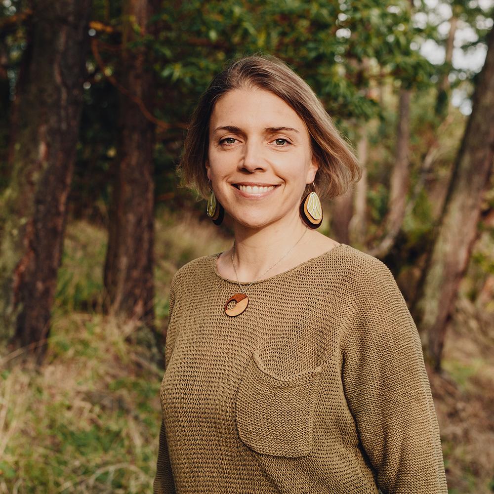 writer Raina Delisle