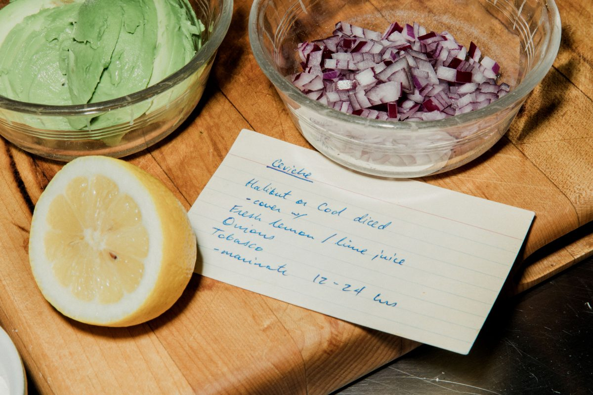 cevivhe recipe and ingredients