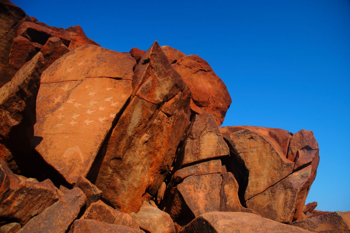 rock art at Deep Gorge, Burrup Peninsula, Western Australia