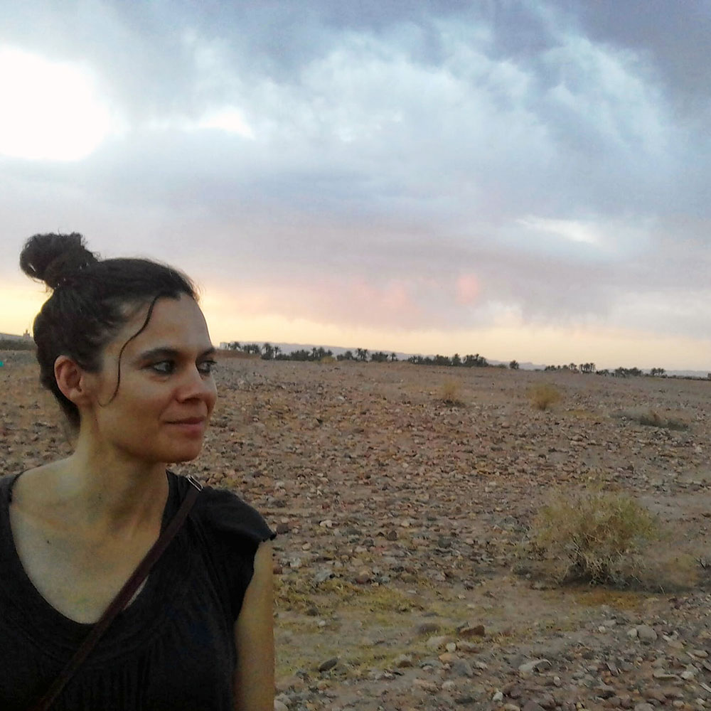 writer Sandrine Ceurstemont