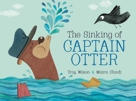 Cover image of The Sinking of Captain Otter