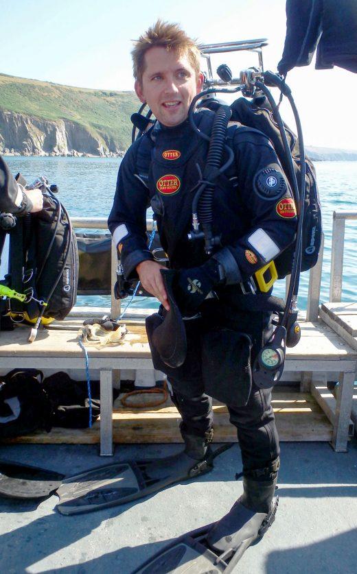 Biologist Dan Smale