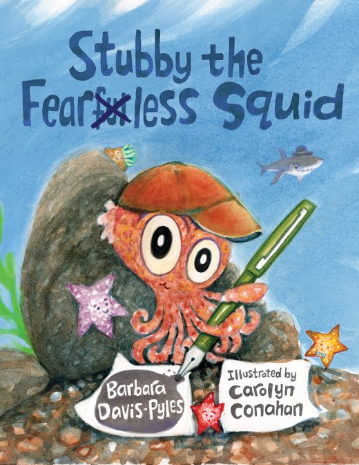 Stubby the Fearless Squid cover image