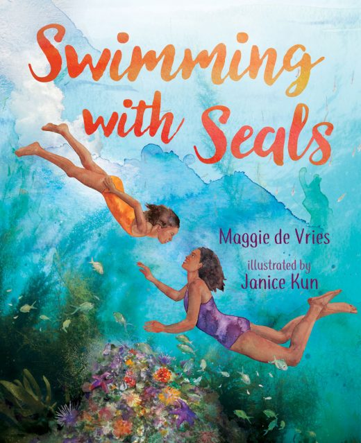 Cover for Swimming With Seals