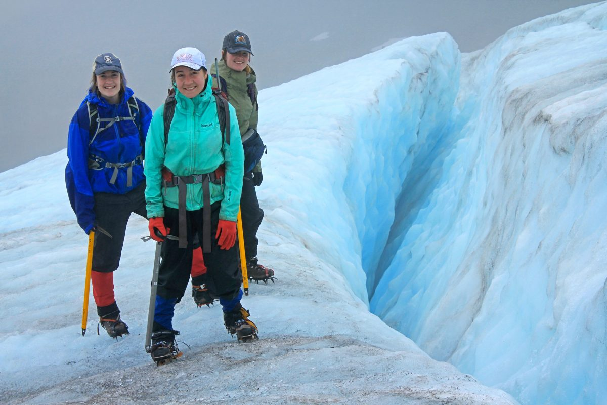 : Mariama Dryak, Erin McConnell, and Jill Pelto