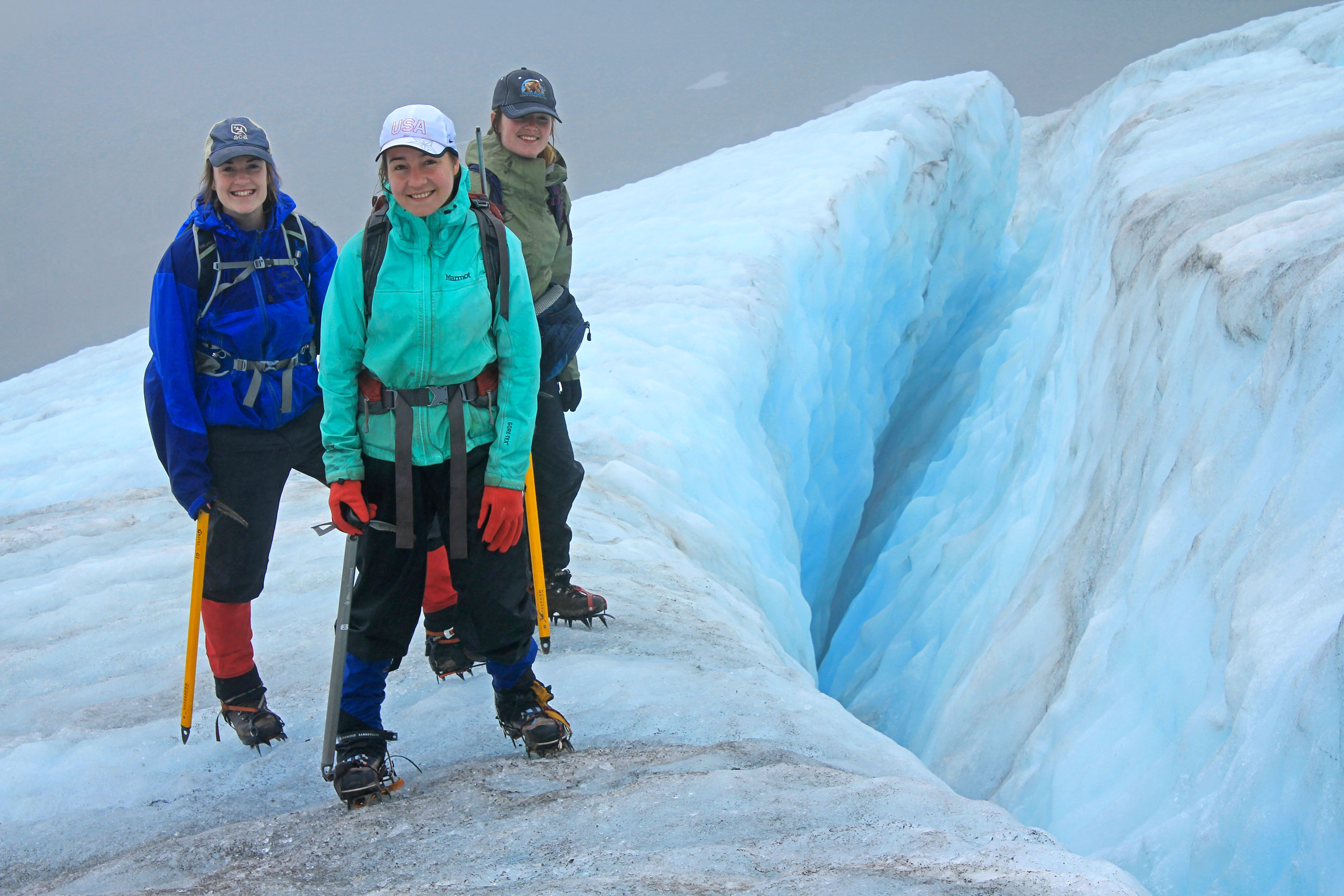 A Visit with the Glacier Squad