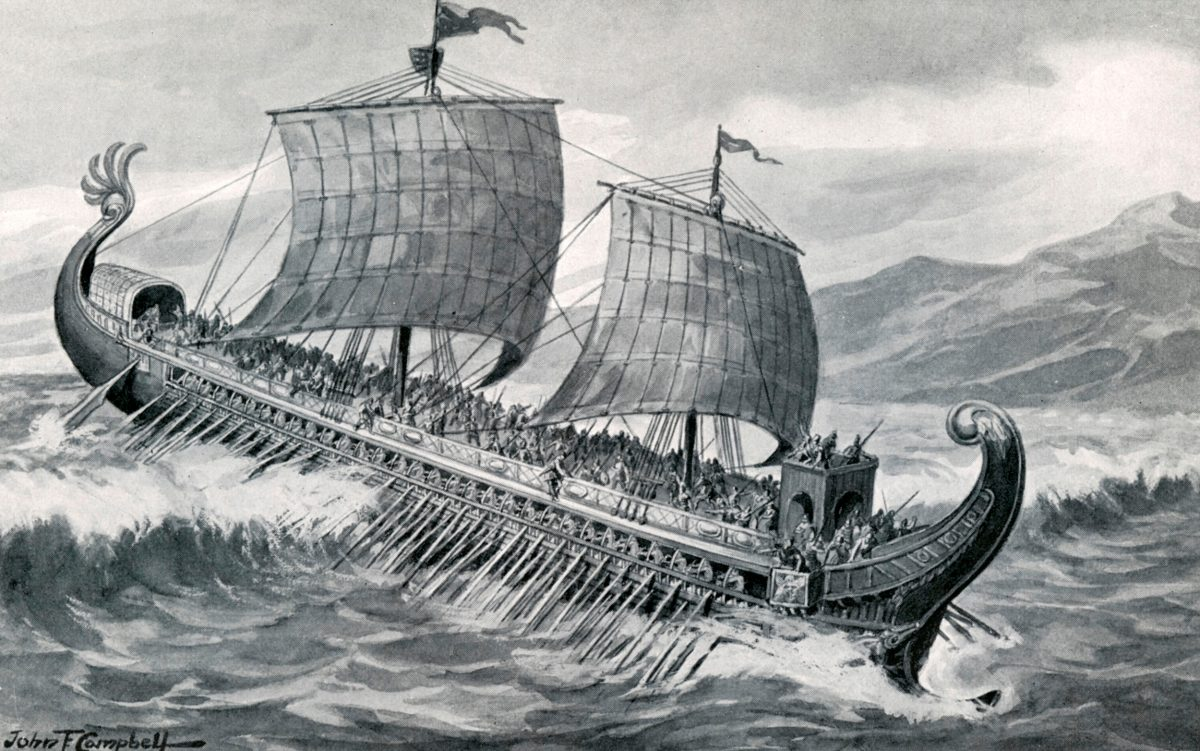 The Trireme Of Pytheas
