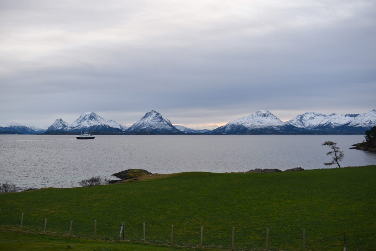 View towards the island of Tustna from Smøla, Norway