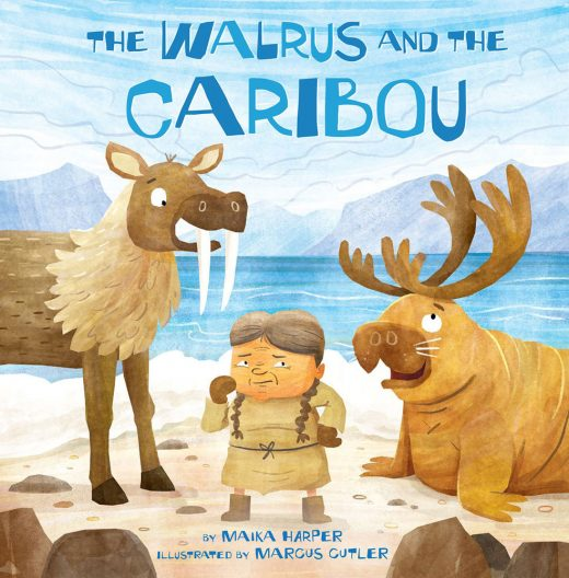 cover image for The Walrus and the Caribou