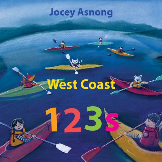 West Coast 123s cover image